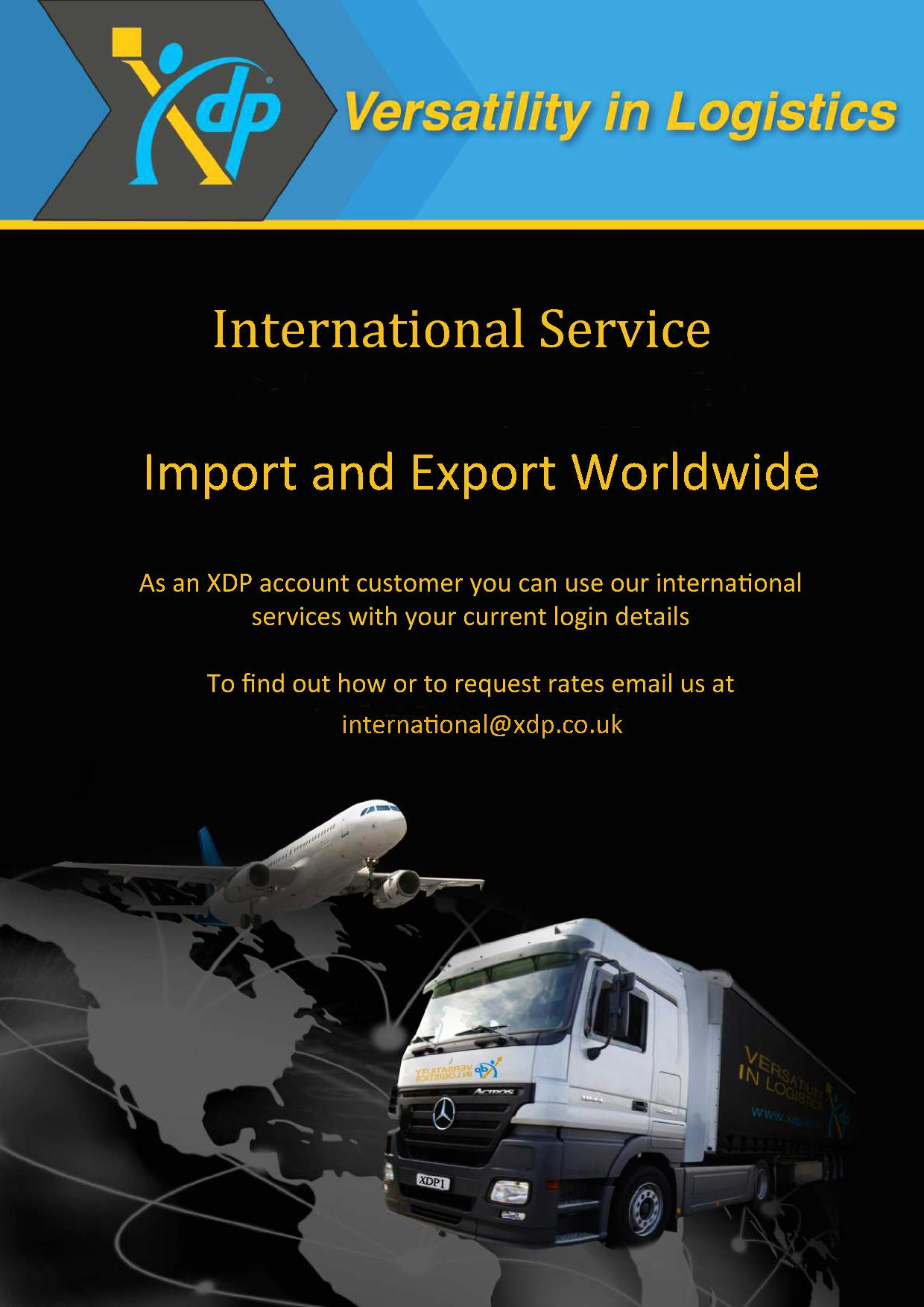 Xdp International The Parcel And Freight Network